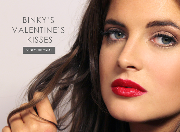 Binky Valentines kisses head image