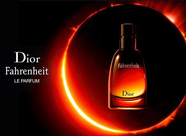 Fahrenheit Le Parfum Banner
