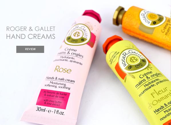 Roger & Gallet Hand Creams