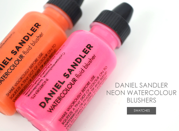 Daniel Sandler Neon Watercolour Blushes