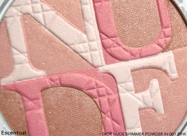 Dior Nude Shimmer Powder in 001 Pink