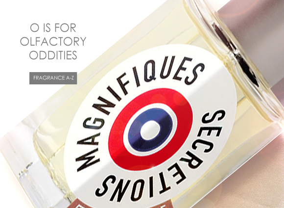 O is for Olfactory Oddities