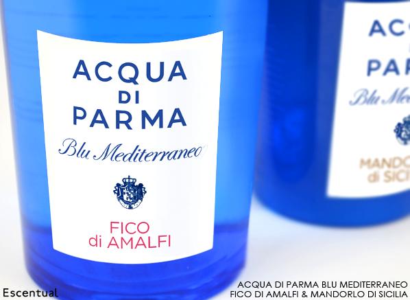 Acqua di Parma Blu Mediterraneo Fico di Amalfi and Mandorlo di Sicilia