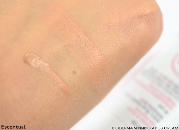 Bioderma Sensibio AR BB Cream Swatch