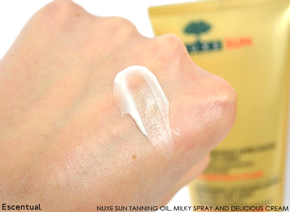 Nuxe Sun After Sun Lotion Swatch