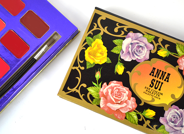 Anna Sui Makeup Palettes Swatch Post