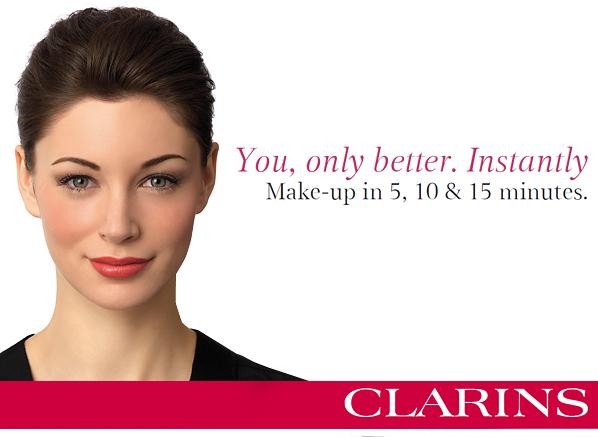 Clarins 5 10 15 Minute Makeup Banner