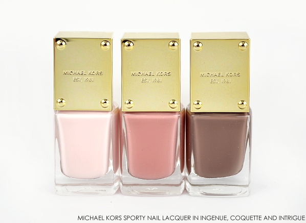 Michael Kors Sporty Nail Lacquer in Ingenue Coquette Intrigue
