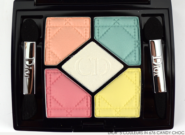 Dior 5 Couleurs Eyeshadow Palette in 676 Candy Choc