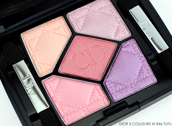 Dior 5 Couleurs Eyeshadow Palette in 846 Tutu