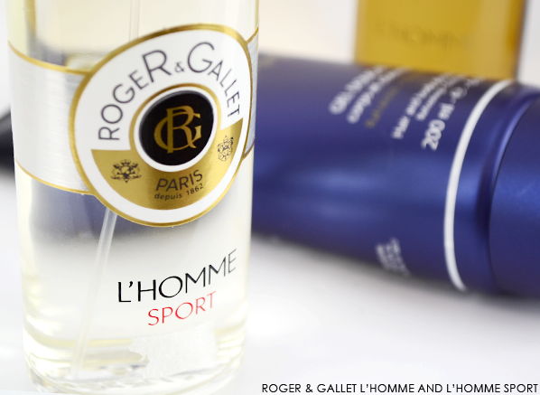 Roger & Gallet L'Homme and L'Homme Sport