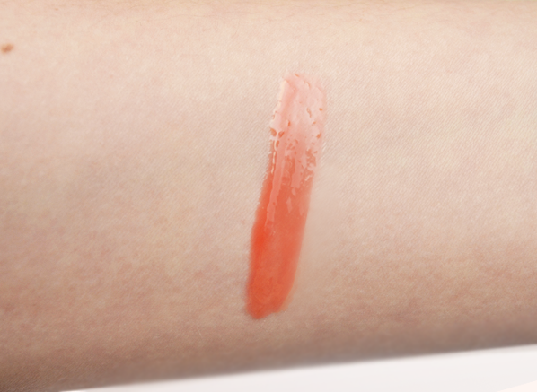Givenchy Gelee d'Interdit Gloss in 23 Orange Distraction Swatch