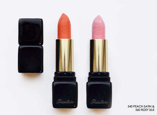 Guerlain KissKiss Lipstick in 540 Peach Satin copy