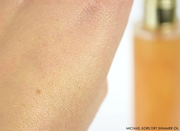 Michael Kors Dry Shimmer Oil