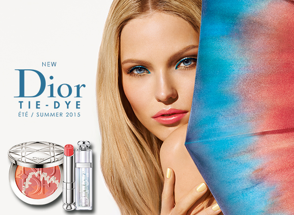 Dior Tie Dye Summer Makeup Look 2015