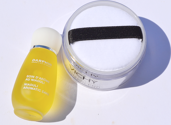 Darphin Niaouli and Vichy Dermablend