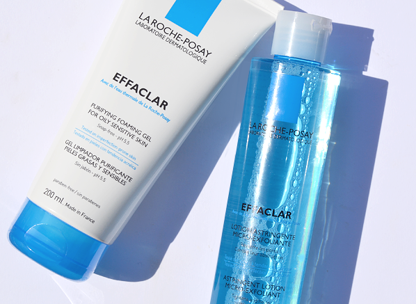 La Roche Posay Effaclar Gel and Lotion