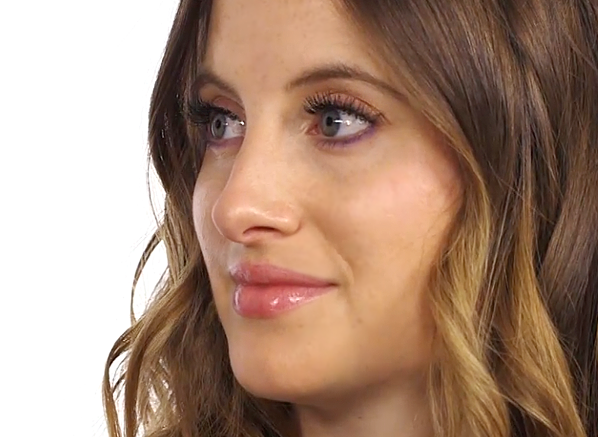 Rosie Fortescue Purple Eyes Main
