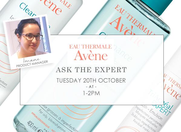 Ask The Expert - Avene
