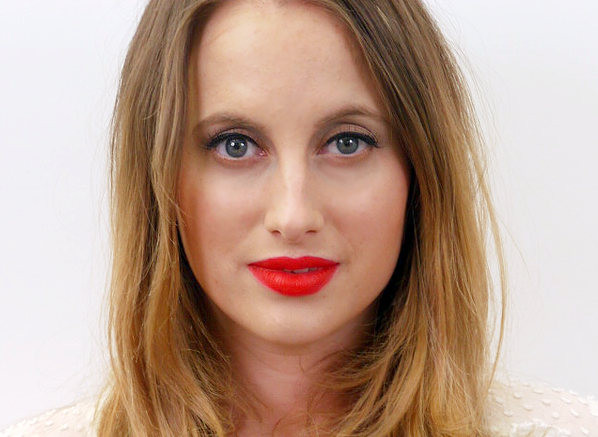 Rosie Fortescue Red Lips