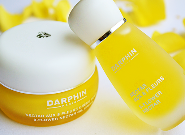 Darphin 8 Flower Nectar Oil Cream and 8 Flower Nectar Elixir