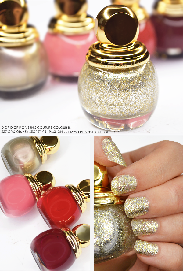 Dior Diorific Vernis Couture Colour State of Gold Collection