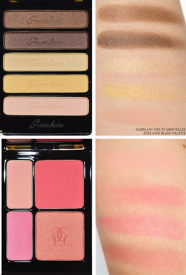 Guerlain Ors et Merveilles Eyes and Blush Palette