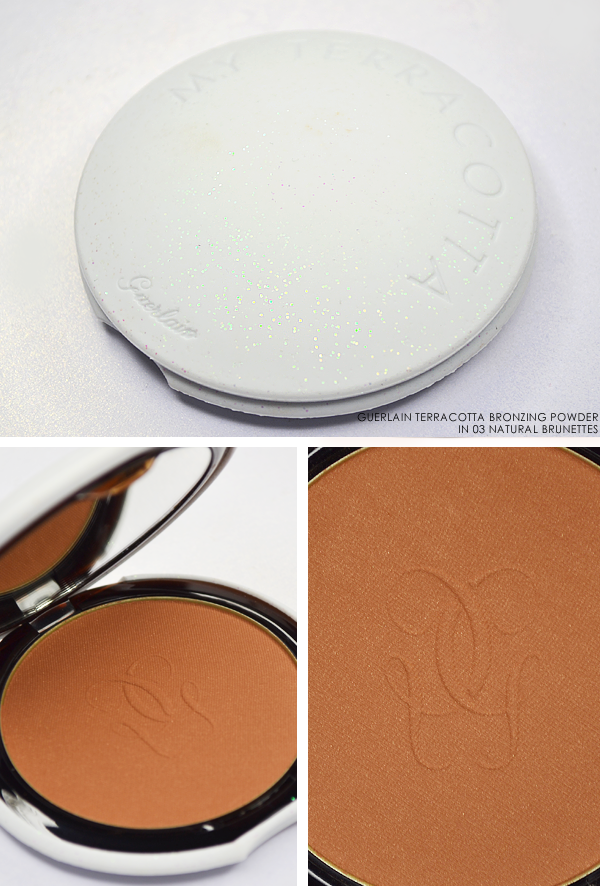 Guerlain Terracotta Bronzing Powder in 03 Natural Brunettes