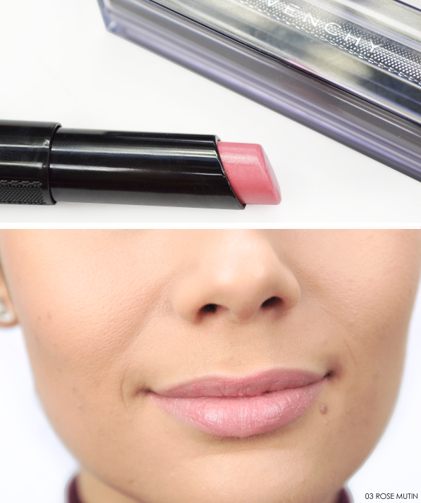 Givenchy Rouge Interdit Vinyl 03 Rose Mutin