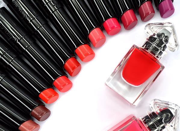 Guerlain La Petite Robe Noire Lipstick and Nail Colour