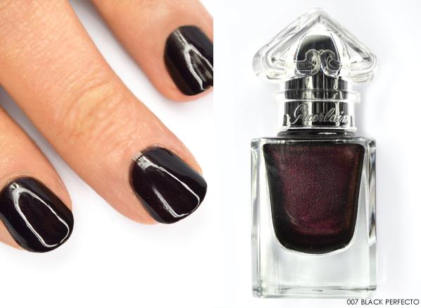 Guerlain La Petite Robe Noire Nail Colour in 007 Black Perfecto