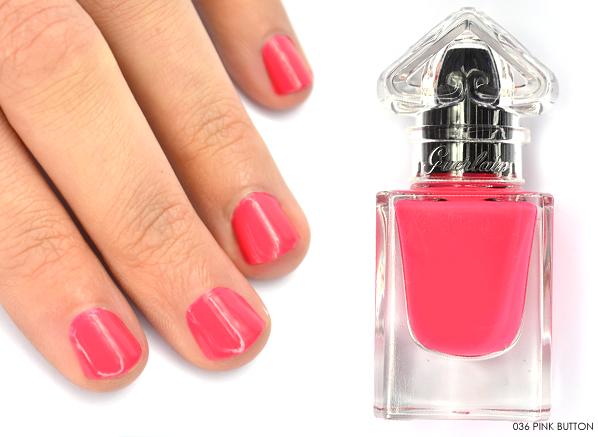 Guerlain La Petite Robe Noire Nail Colour in 063 Pink Button