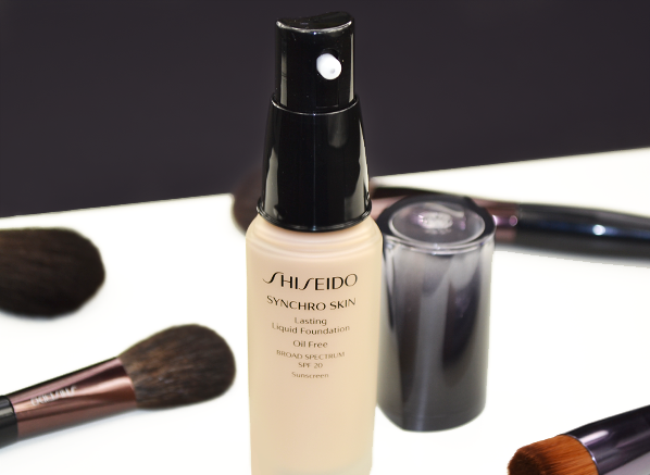 Shiseido Synchro Skin Foundation Stylised