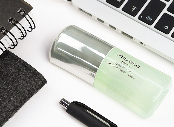 Shiseido Ibuki Quick Fix Mist - The Rise of Face Mists
