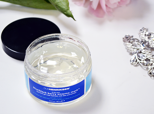 Ole Henriksen Blue Black Berry Enzyme Mask - DIY Wedding Facial