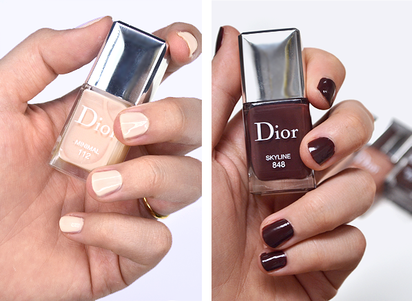 Dior 112 Minimal and 848 Skyline