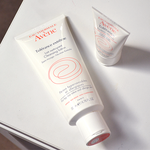 Avene Tolerance Extreme Cleansing Lotion and Tolerance Extreme Mask