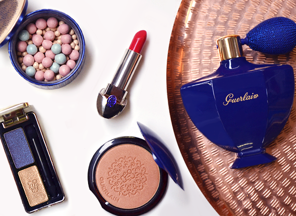 Guerlain Shalimar Christmas Makeup Look 2016