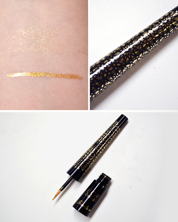 Guerlain Shalimar Christmas Makeup Look 2016 - L'Or Eyeliner
