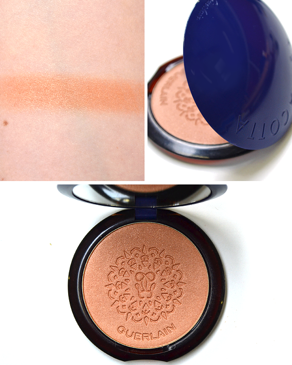 Guerlain Shalimar Christmas Makeup Look 2016 - Terracotta Terra India Shimmering Bronzing Powder