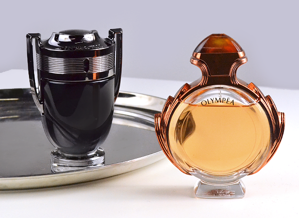 Paco Rabanne Invictus Intense and Olympea Intense