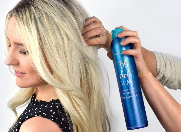 The Hairspray Secret To Prolonging Your Style