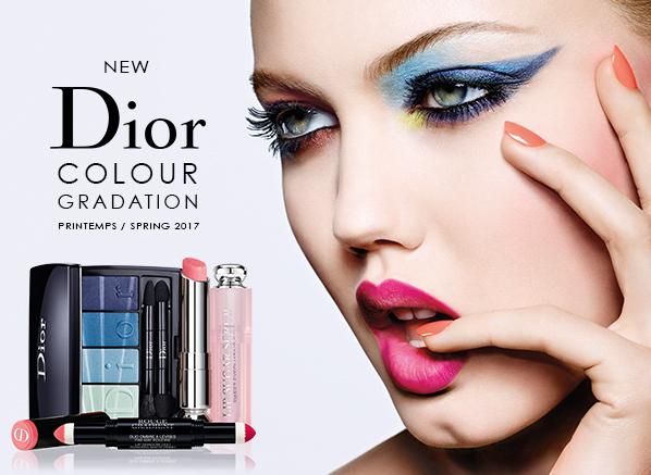 Dior Colour Gradation Spring Look