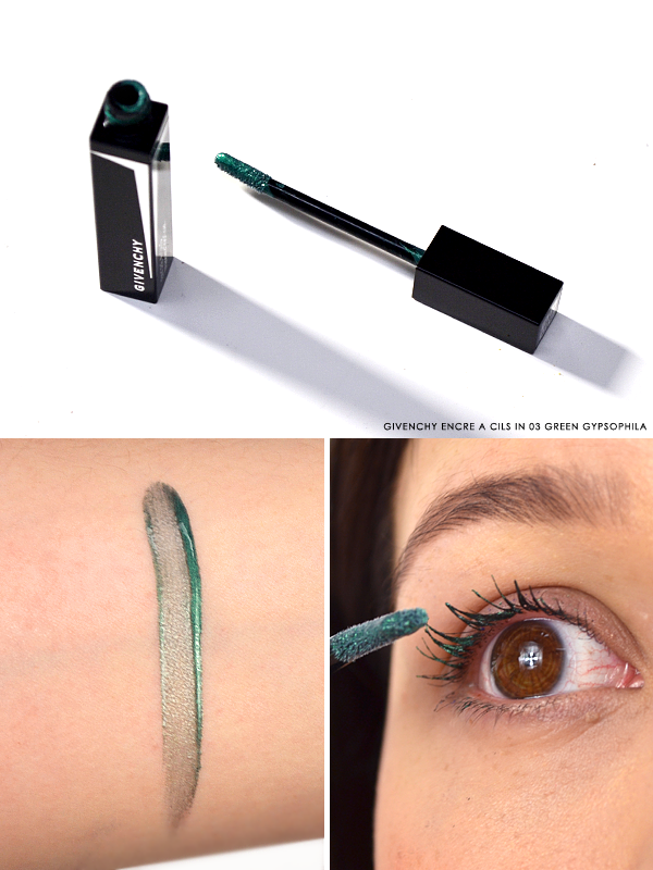 Givenchy Encre a Cils Mascara Top Coat 03 Green Gypsophila