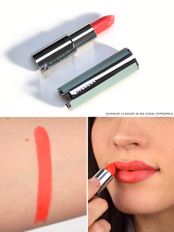 Givenchy Le Rouge Lipstick in 322 Coral Gypsophila