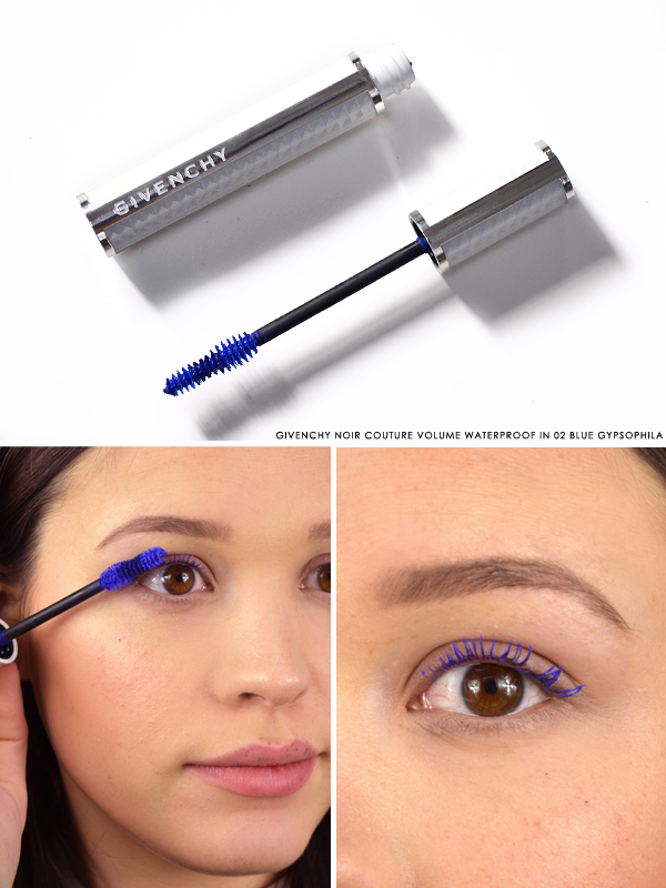 Givenchy Noir Couture Volume Waterproof Mascara in 02 Blue Gypsophila
