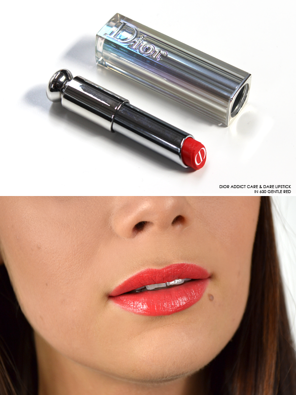 Dior Addict Care & Dare Lipstick in 630 Gentle Red