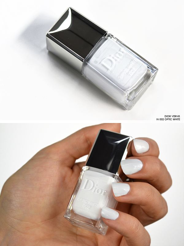 Dior Vernis Nail Polish in 002 Optic White