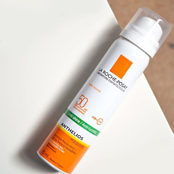 La Roche-Posay Anthelios Anti-Shine Invisible Fresh Mist Spray SPF50+ - French Pharmacy