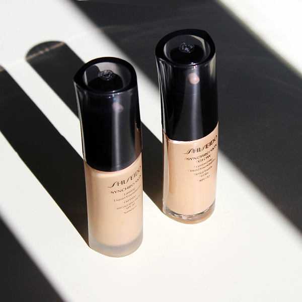 Shiseido Synchro Skin and Synchro Skin Glow Foundation